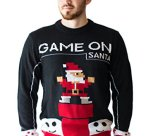 Game On Santa Ugly Christmas Sweater