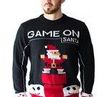Game On Santa Ugly Christmas Sweater