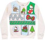 Girls Hello Kitty Christmas Sweater