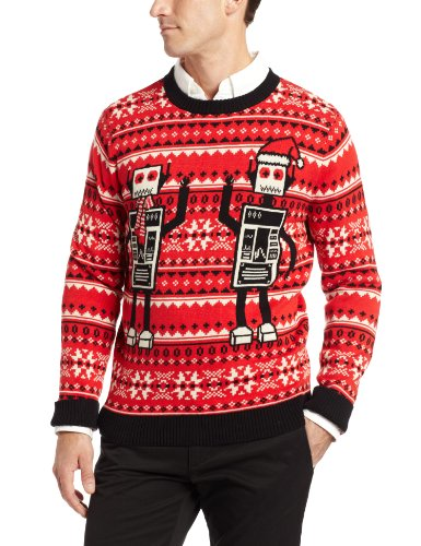 Robot Ugly Christmas Sweater | Ugly-Sweaters.com