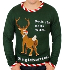 Rudolph Dingleberries Sweater