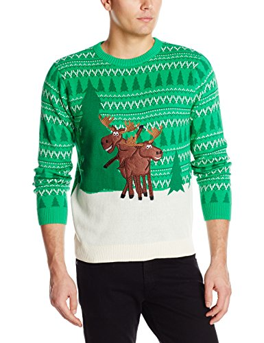 Moose Games Ugly Christmas Sweater | Ugly-Sweaters.com