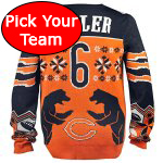NFL Ugly Football Sweater