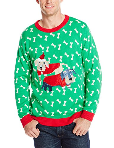 Holiday Dachshunds Ugly Christmas Sweater | Ugly-Sweaters.com