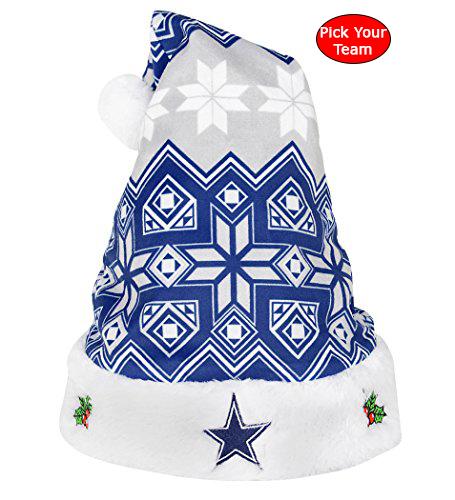 nfl ugly christmas hats pick your favorite team - Ugly Christmas Hats
