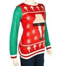 Womens Leg Lamp Ugly Christmas Sweater