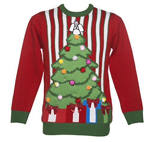 The Night Before Christmas Ugly Sweater With Lights