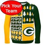 Ugly Football Christmas Sweater