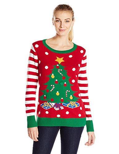 womens light up christmas tree ugly christmas sweater