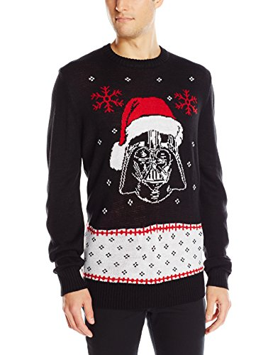 mens vader claus star wars christmas sweater