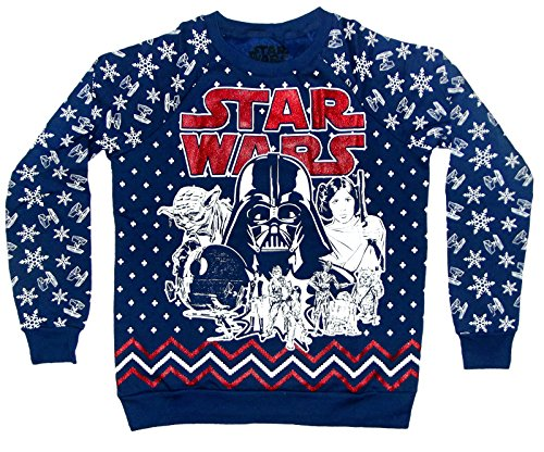 Star Wars Glittered Christmas Sweater | Ugly-Sweaters.com
