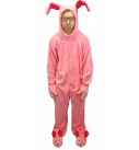 A Christmas Story Bunny Suit Pajamas Costume – Sizes for Kids to Adults