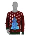 Amazing 7 Color LED Light Up Christmas Tree Sweater – Unisex