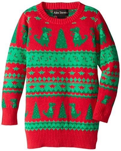 dinosaur fair isle ugly christmas sweater - Ugly Christmas Sweater Dinosaur