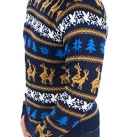 Retro Humping Reindeer Sweater