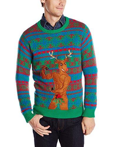 bodybuilder reindeer christmas sweater - Best Christmas Sweater