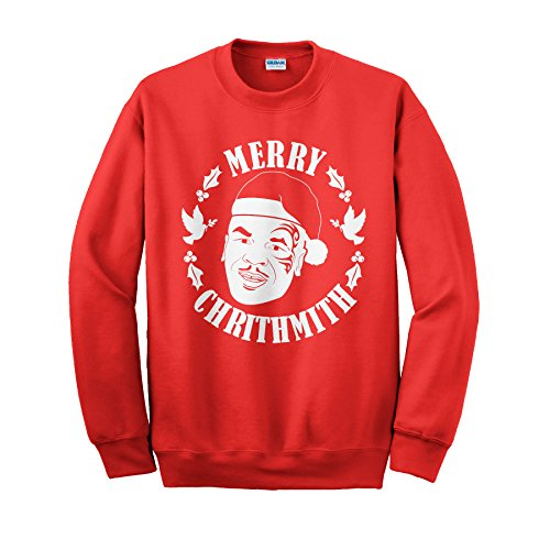 mike tyson merry crithmith ugly christmas sweater design sweatshirt - Merry Christmas Mike Tyson