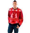 Star Wars Death Star Saber Showdown Ugly Christmas Sweater