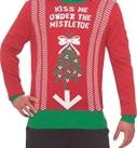 Kiss Me Under The Mistletoe Sweater