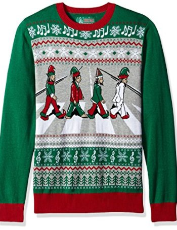 beatles abbey road sweater christmas sweater - Balls Christmas Sweater