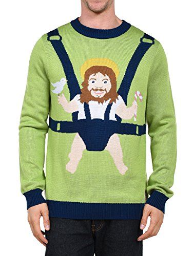 sweet baby jesus ugly christmas sweater