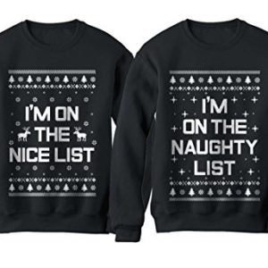 b831e5175 Best Matching Christmas Sweaters for Family & Couples | Ugly ...