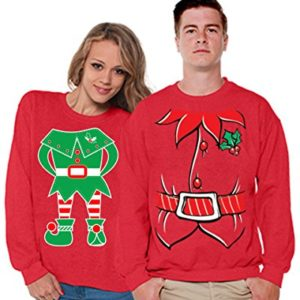 his and hers christmas elves